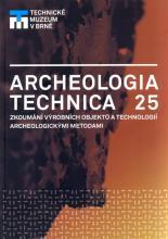 Archeologie technica 25 - titulní strana