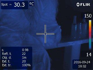 Pivo v termokameře