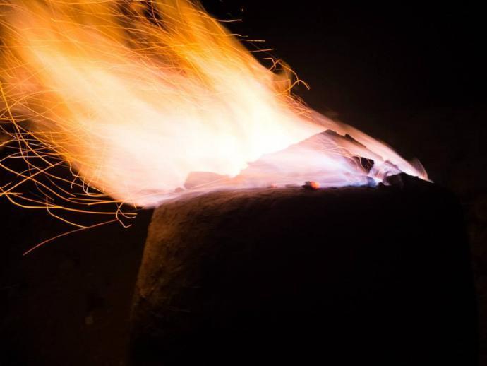 Kychtový plamen