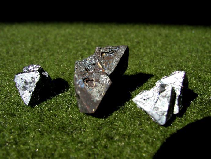 Oktaedry magnetitu