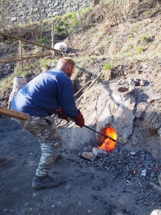 Extrakce železné houby
