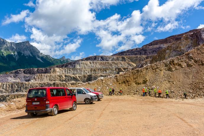 Erzberg - geologické safari