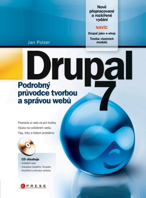 Přebal knihy Drupal 7